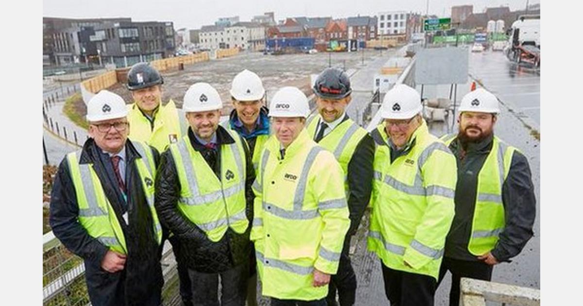 Construction starts on Arco's new headquarters in Hull's Fruit Market - FreshPlaza.com