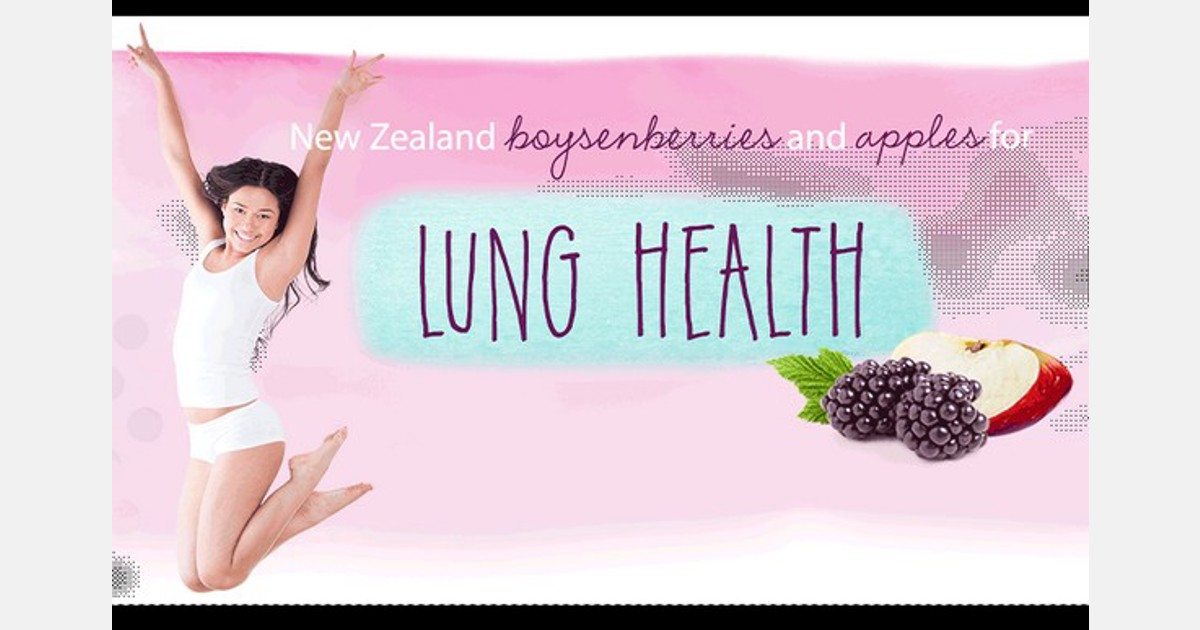 New Zealand-made fruit drink might aid in repairing lung damage