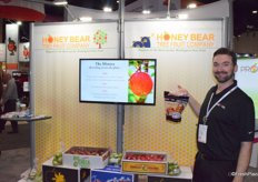 Brent Steensma from Honey Bear Tree Fruit