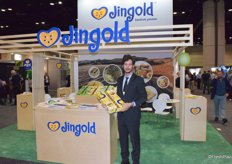 Federico Milanese of Jingold, the company started with red kiwifruit