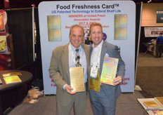 Rick Hassler and Mitch Bram from Food Freshness Card