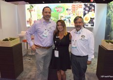 Andy Bruno, Angela Tallart and Pedro Aquilar from Westfalia Fruit