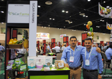 Oscar Martnez and Jose Luis Suarez from Sicar Farms, Mexico