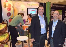 Narciso Vivot and Bill Lucas of Agrofresh