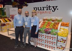 Francisco J. Battitini, Jason Laffer and Amy Rosenoff of Purity Organic
