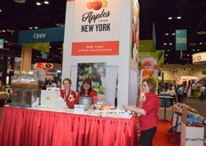 Booth of New York Apples