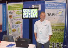 Avner Shohet of TAP-Teshuva Agricultural Projects promotes the TAPkit