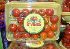 D'vines; a new product from NatureSweet. These cherry tomatoes on the vine will launch in the first quarter of 2019.