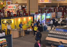 Another impression of the trade show floor.