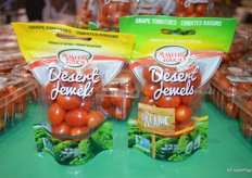 Master's Touch just introduced new packaging for its Desert Jewels grape tomatoes. It's a 6 oz. stand up pouch bag and now also available in organic.
