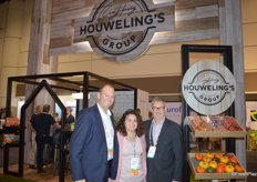David Bell, Jaymee McInerney and Mike Reed with Houweling's Group.