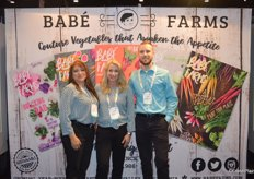 The team of Babe Farms. From left to right: Rocio Munoz, Ande Manos and Matt Hiltner.