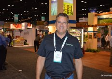 Gary Lazarski with MightyVine, greenhouse grower in the Chicago area.