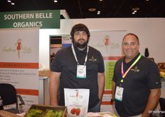 Brick Rooks and Vince Ferrante with Southern Belle Organics out of North Carolina.