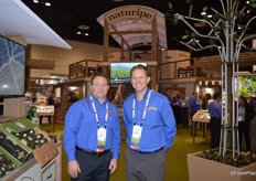 Joe Dugo and Dustin Hahn with Naturipe Avocado Farms.
