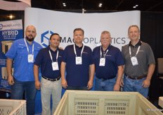 The team of Macro Plastics. From left to right: Antonio Cabrera, Luis Escorriola, Roberto Borbolla, Cesar Mejia and Mark Malatras.