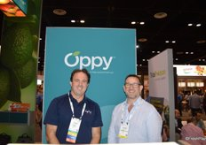 David Nelley with Oppy and Andrew Keaney with T&G Global.