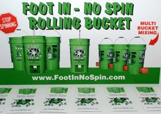 Foot in - No Spin Rolling Bucket - www.footinnospin.com