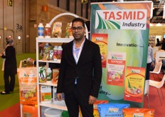 Merhaben Tayeb of Tasmid Industry. The Tunesian company is specialized in fertilizer.