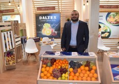 Tarek Fouad is Daltex' seed specialist. Daltex cultivates a lot of fruit, including but not limited to citrus, grapes, peppers and pomegranates.