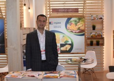 Hatem el Shalma is the CEO of Egyptian Agriculture Services Trade Company (EGAST). They export citrus, onions and potatoes among other fruits.