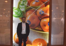 Tonie Fuchs is the managing director for Capespan Group ltd. They were promoting their newest variety Gems citrus from South Africa. He told us their season is looking good and had seen enough rain for health cultivation.
