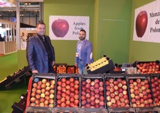 Greg en Kris for Fruits Starr. They came to madrid to promote their Polish Apples.