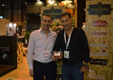 Sider Khiter from RedStar with Boubker Zahni from Les Domaines Export