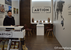 John from Artion, food trading and packaging company, their main product is Greek chestnuts.