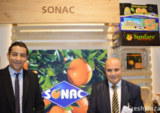 Yasser Khaled AbuIsmail (Founder) from My Very Fruits with Samer Dawoud (Supply Chain Manager) from Sonac.