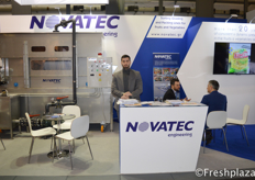 George Karathanasis from Novatec S.A. Novatec provides high quality sorting, weighing and packing solutions.