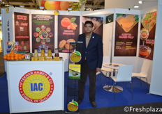 Waheed Ahmed (Director Marketing) from Iftekhar Ahmed & Co. (IAC). Grower, packer, processor and exporter of fresh fruit, vegetables, fruit pulp and concentrate.