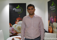 Soham Bhalala from Bhalala Foods Pvt Ltd. Manufacturer and exporter of fresh & dehydrated vegetables.