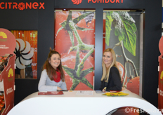 Tatiana Sucha-Klebaniuk (Sales Manager) and Grażyna Aniszkiewicz from Citronex Group.