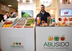 "Mohammad Hasan Abusido from Abusido farms is a Jordan pioneer with his produce at Fruit Logistica. ""In Jordan we produce summer crops in wintertime"""