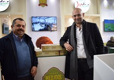 Medjoul dates from Medjool Village are ready for the European market, say Faisal Nabulsi and Mohammad Al-Salamat.