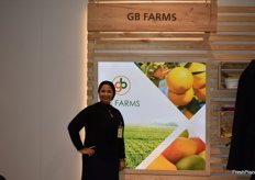 Esraa Assaf from the Egyptian exporting company GB Farms.