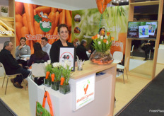Nitsan Shallit from Shallit Carrots celebrating their 40th anniversary