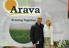 Yair Ohana and Angelina Zurbenko from Arava Export Growers