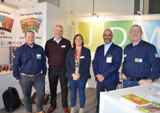 James Fouster, Paul Tracey, Emma Smith, Mandeep Grewal, Darren Beven at the JDM stand with the full range of Just Add products.