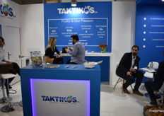 The stand of Greek company Taktikos.