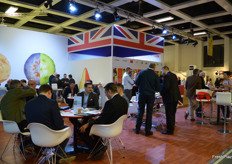 The UK Pavillon was well attended.