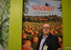 David Rogers at Tozer Seeds, the company has a new brand of pumpkins - Wicked, they were bred especially for the northern European climate. Tozer Seeds are also celebrating their 75 year anniversary.