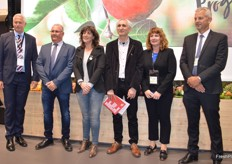 Gareth Edgecombe - CEO T&G Global, HC Teresa Jorda - Catalonian Minister of Agriculture, Josep Usall - CEO IRTA, Sarah McCormack - T&G Global and Gavin Ross - Plant & Food Research.