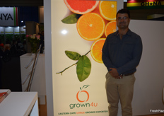 Eugene De Lange from Grown 4U is looking forward to the start of the citrus season in South Africa, the lemon harvest will start towards the end of March.