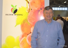 Geoff Croxford from Frudor specialising in grapes from South Africa.