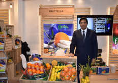 Ahmed Sarhan, CEO from Fruttella. The company exports citrus from Egypt.