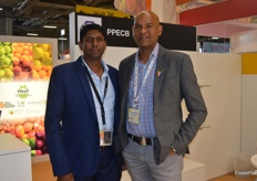 Vijan Chetty and Lucien Jansen from the PPECB.