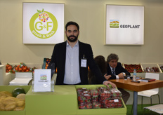 Diasakos Petros, the Food Scientist from Geoplant. They export a variety of fruits from Greece.