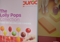 The Lolly Pops collection at the Delassus stand.